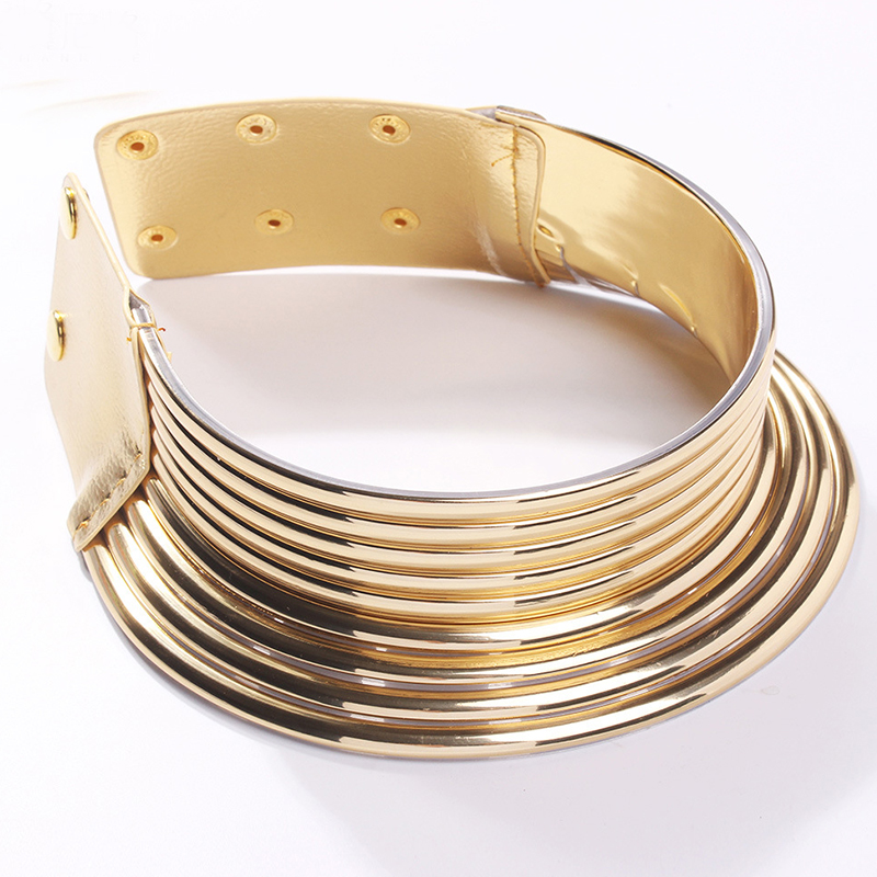 Lovely Casual Multilayer Gold Necklace