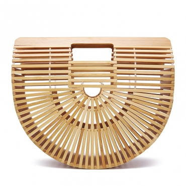 Lovely Casual Hollow-out Khaki Clutches Bags