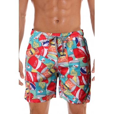 Lovely Bohemian Printed Multicolor Shorts