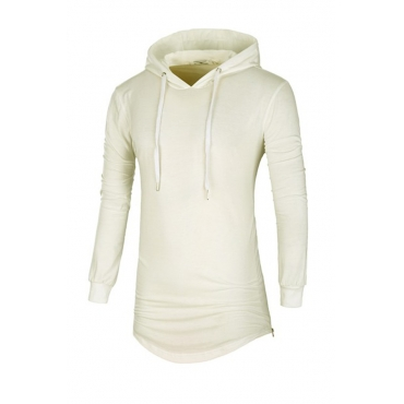 Lovely Casual Hooded Collar White Hoodies