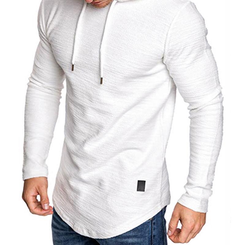 Lovely Trendy Hooded Collar White T-shirt