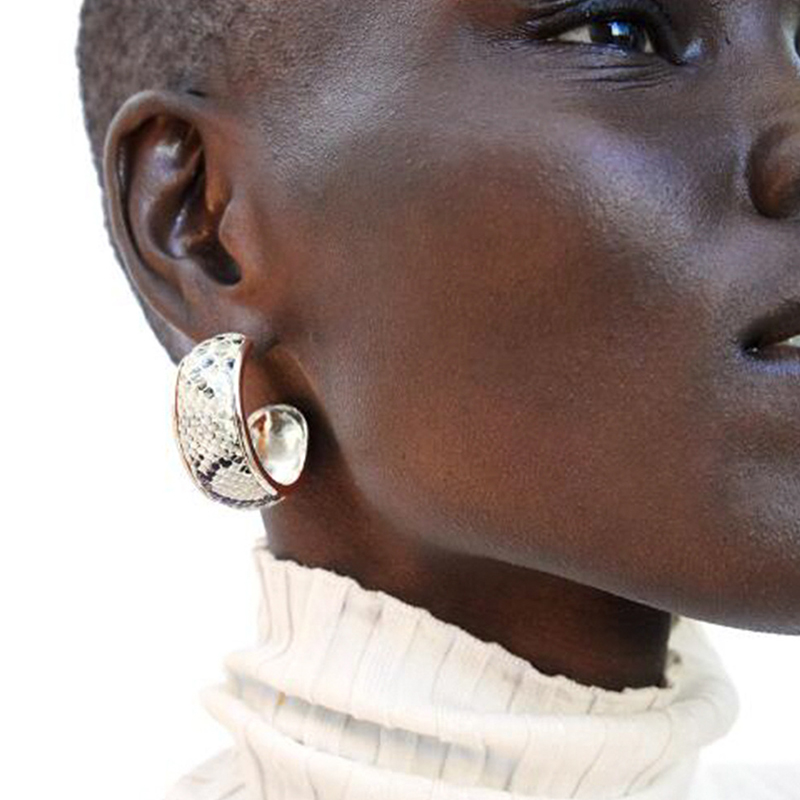 Lovely Sweet White Alloy Earring