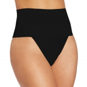 Lovely Trendy High Waist Black Panties