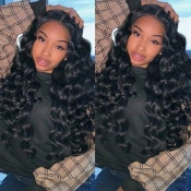 Lovely Trendy Curly Synthetic Black Wigs