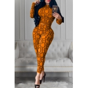 Lovely Casual Letter Printed Croci Two-piece Pants Set