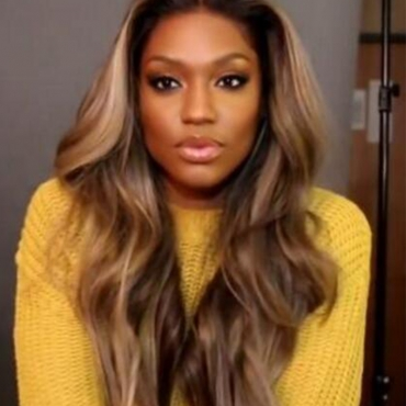 Lovely Casual Big Curly Synthetic Brown Wigs