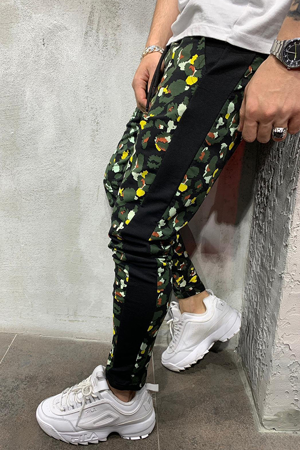 Lovely Casual Printed Green Pants