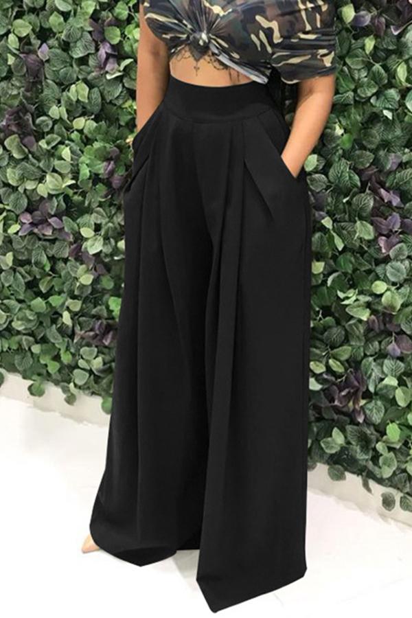 Lovely Work Loose Black Pants