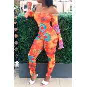 Lovely Casual Printed Croci One-Piece Jumpsuit