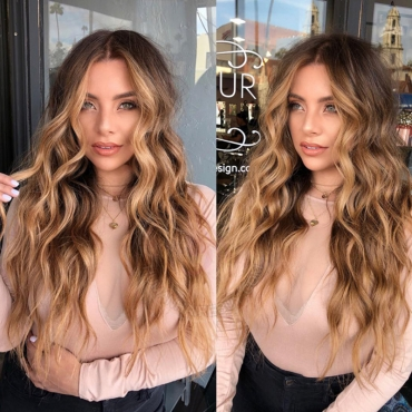 Lovely Trendy Curly Synthetic Brown Wigs