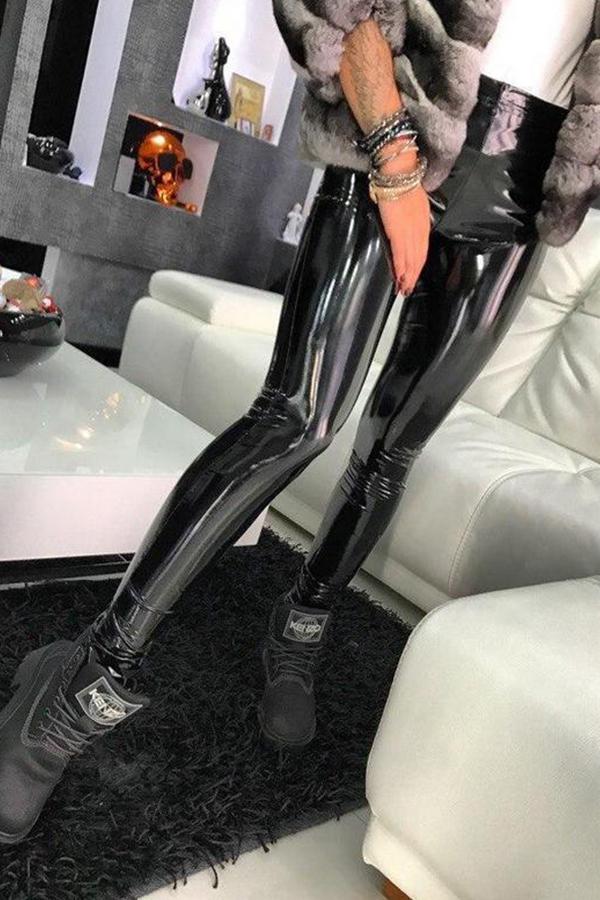 Lovely Sexy Skinny Black Pants