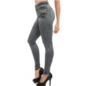 Lovely Casual Skinny Grey Jeans