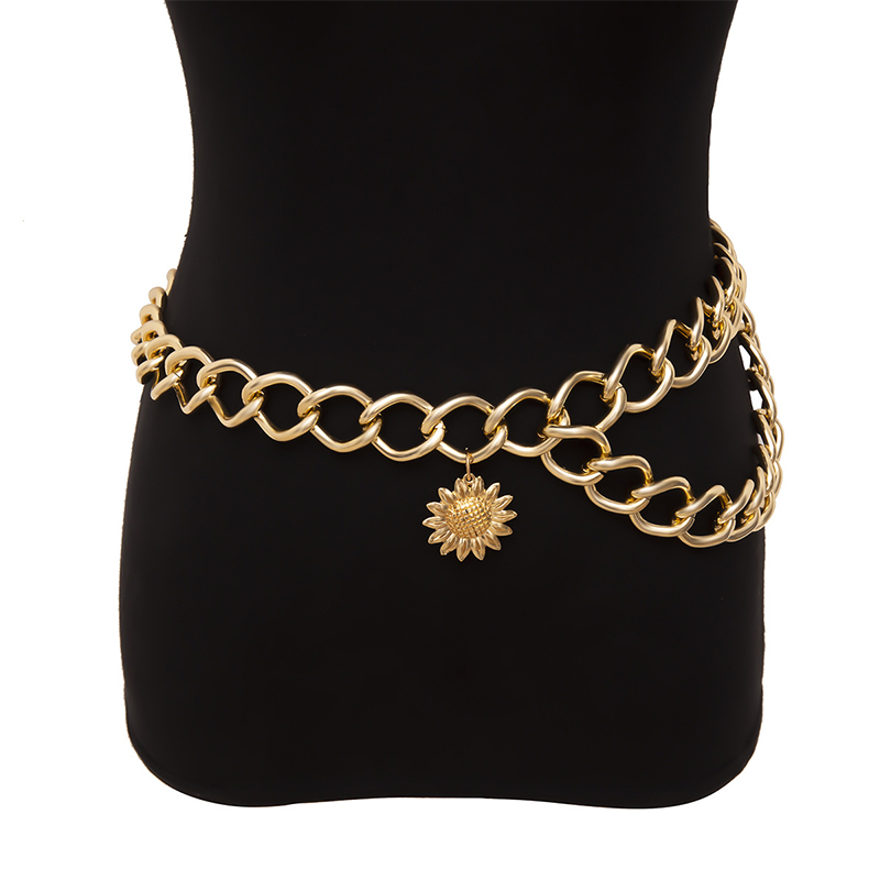 Lovely Trendy Hollow-out Gold Body Chain