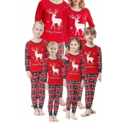 Lovely Family Christmas Deer Red Mother Two-piece