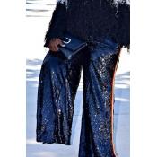 Lovely Trendy Loose Black Plus Size Pants