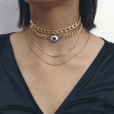 Lovely Metal Casual  Regular  Necklace