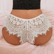 Lovely Sexy Lace White Panties