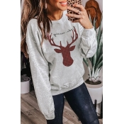 Lovely Christmas Day Grey Sweatshirt