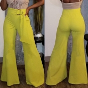 Lovely Leisure Loose Yellow Pants
