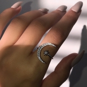 Lovely Chic Silver Ring