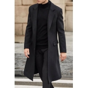 Lovely Imitation wool suiting Casual Solid Basic R