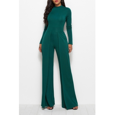 Lovely Trendy Loose Green One-piece Jumpsuit