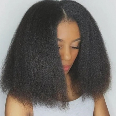 Lovely Casual Curly Black Wigs