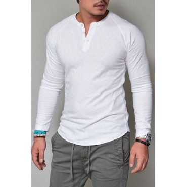 Lovely Casual Basic White T-shirt