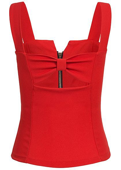 Lovely Trendy Spaghetti Strap Basic Red Plus Size Camisole