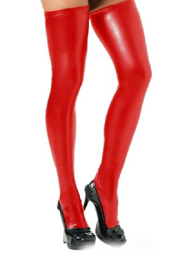 Lovely Chic Skinny Red Bodystocking
