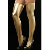Lovely Chic Skinny Yellow Bodystocking
