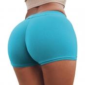 Lovely Sexy Basic Sky Blue Panties