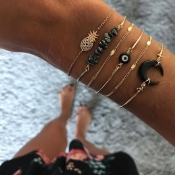 Lovely Bohemian Gold Bracelet