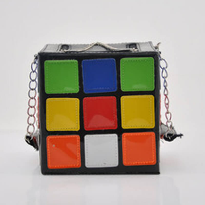 Lovely Stylish Patchwork Multicolor Crossbody Bag