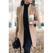 Lovely Work Basic Khaki Coat