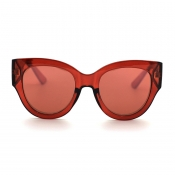 Lovely Chic Big Frame Design Red Sunglasses