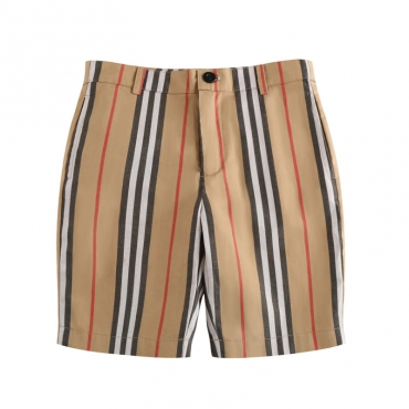 Lovely Casual Striped Print Boys Shorts