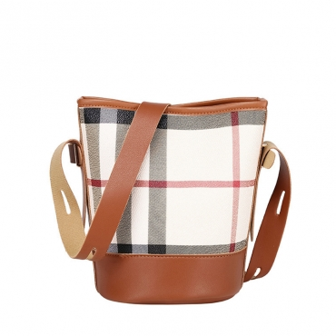 Lovely Casual Print Brown Messenger Bag