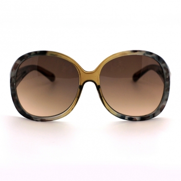Lovely Chic Print Green Sunglasses