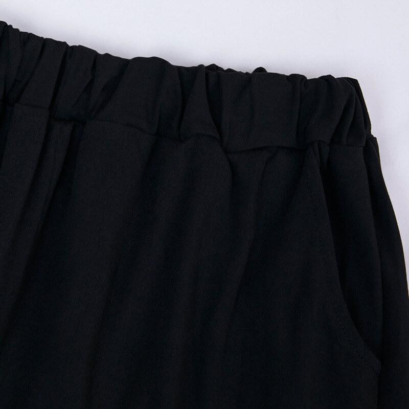 Lovely Casual Letter Print Black Plus Size Sleepwear