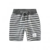 Lovely Trendy Striped Grey Boy Shorts
