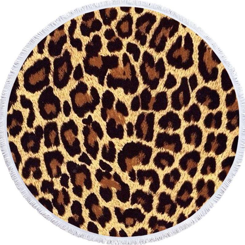 Lovely Trendy Leopard Print Blanket