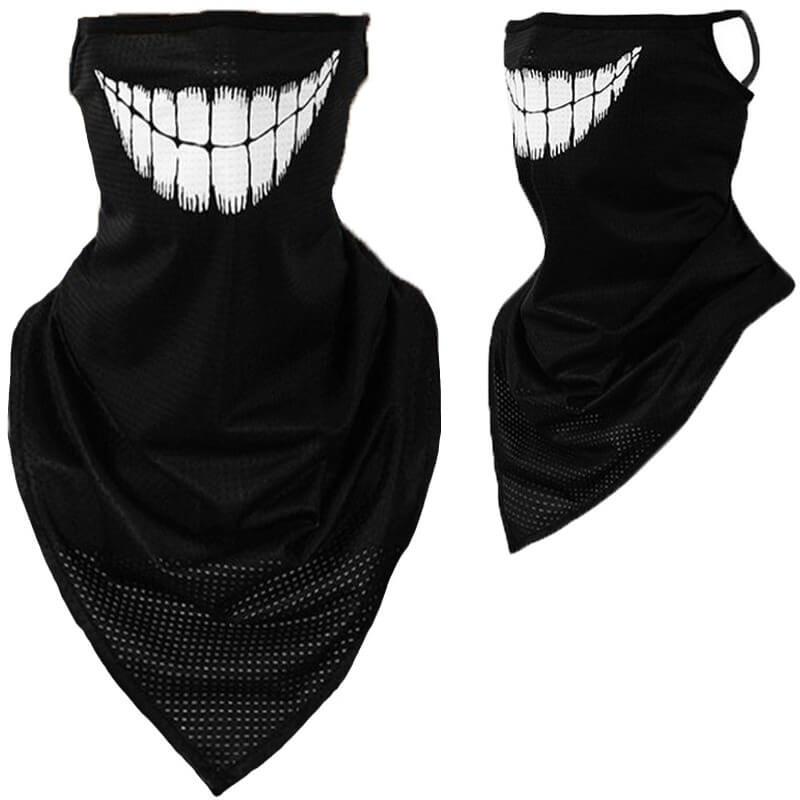 Lovely Sportswear Print White Face Mask фото