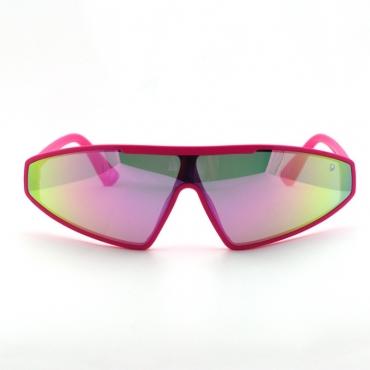 lovely Stylish Gradient Lens Pink Sunglasses