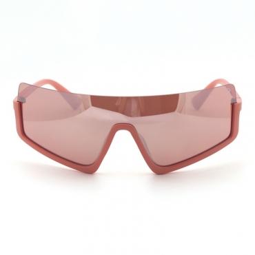 lovely Chic Big Frame Design Pink Sunglasses