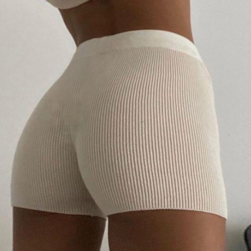 Lovely Casual Basic White Shorts фото