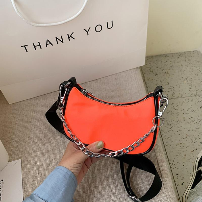 Messenger Bag&Crossbody Bag lovely Trendy Chain Strap CrociCrossbody Bag фото
