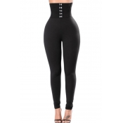lovely Sportswear High-waisted Skinny Black Pants