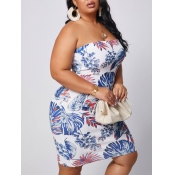 lovely Sexy Off The Shoulder Multicolor Mini Plus