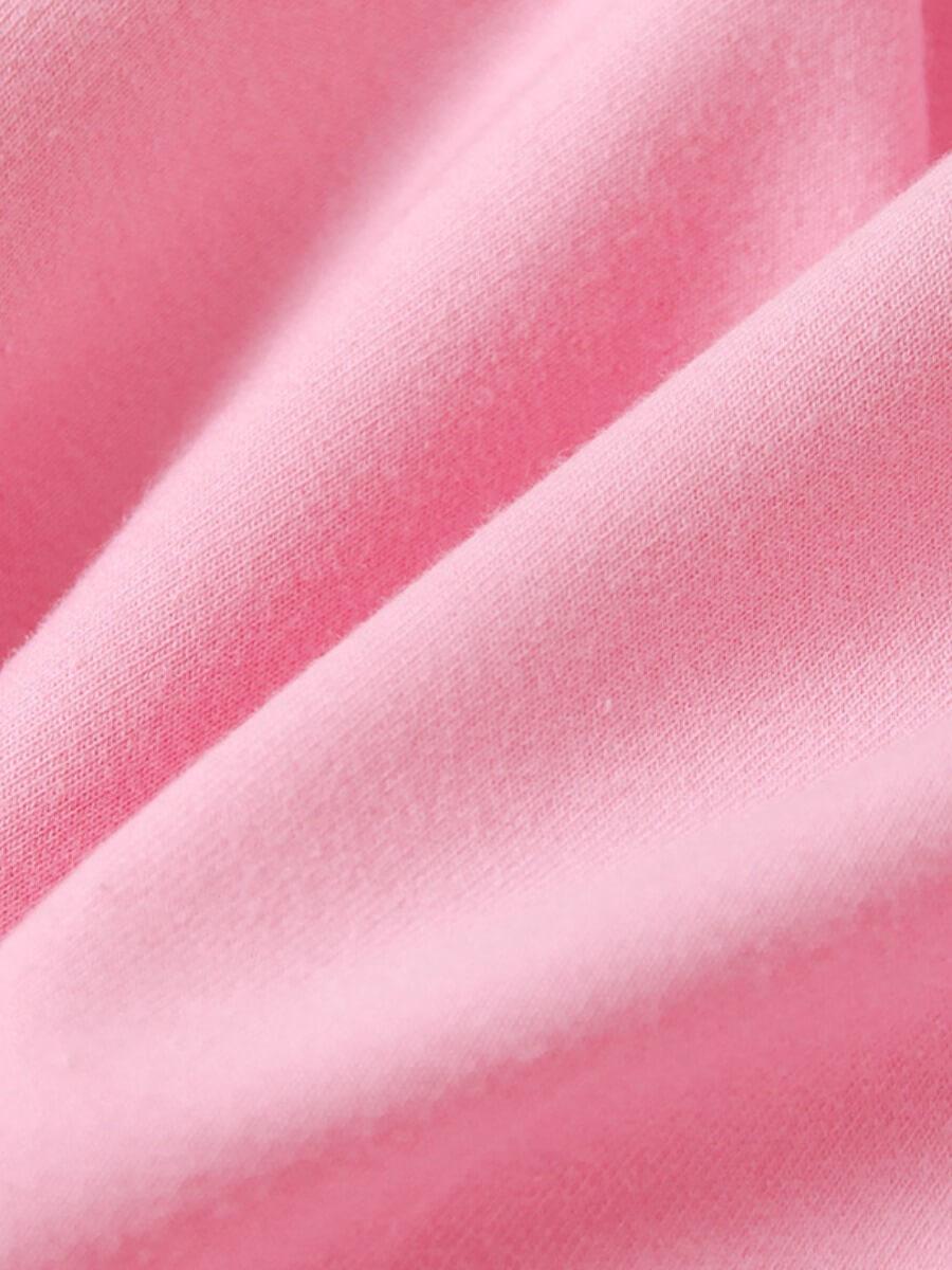 Lovely Sportswear O Neck Heart Print Patchwork Pin